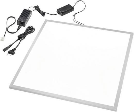 LED-Einbauleuchte 40 W Neutral-Weiß Esotec 201266 Silber, Weiß