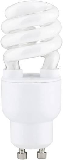 Energiesparlampe 89 mm Paulmann 230 V GU10 7 W = 30 W Warm-Weiß EEK: A Spiralform Inhalt 1 St.