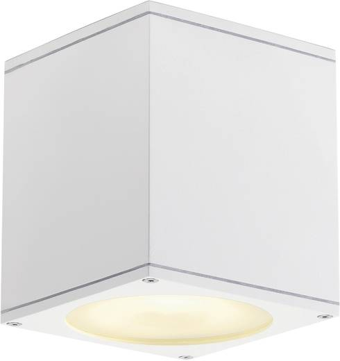 Außendeckenleuchte Halogen, LED GU10 75 W SLV Big Theo 229551 Weiß
