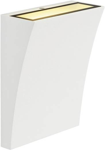 LED-Wandleuchte 6.5 W Warm-Weiß SLV Delwa Wide 230791 Weiß