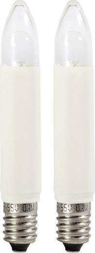 Ersatzleuchtmittel Weihnachten 8 - 55 V E10 0,2 W Warm-Weiß Konstsmide 2er-Set