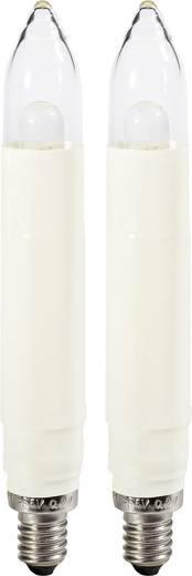 LED-Ersatzlampe 2 St. E10 8 - 55 V Warm-Weiß Konstsmide 5037-120