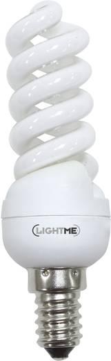 LightMe Energiesparlampe EEK: A (A++ - E) E14 104 mm 230 V 11 W Warmweiß Spiralform 1 St.