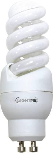 energiesparlampe 90 mm lightme 230 v gu10 9 w 39 w warmwei eek a spiralform 1 st kaufen. Black Bedroom Furniture Sets. Home Design Ideas