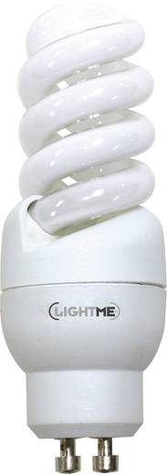 Energiesparlampe 90 mm LightMe 230 V GU10 9 W EEK: A Spiralform Inhalt 1 St.