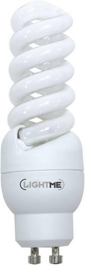 Energiesparlampe 99 mm LightMe 230 V GU10 11 W = 46 W Warmweiß EEK: A Spiralform 1 St.