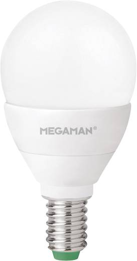 LED E14 Tropfenform 3.5 W = 25 W Warmweiß (Ø x L) 45 mm x 86 mm EEK: A+ Megaman dimmbar 1 St.