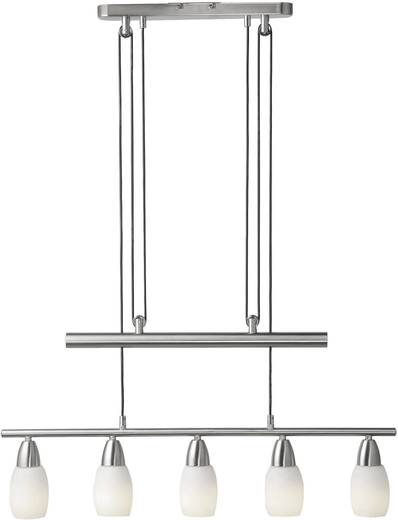 Pendelleuchte Energiesparlampe E14 45 W 15065-55 Silber