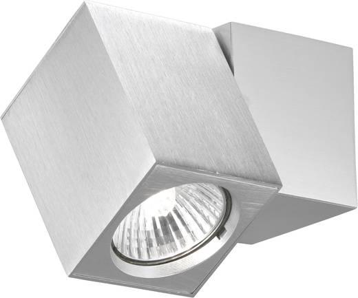 Wandleuchte GU10 50 W Halogen Paul Neuhaus CUB 9986-95 Silber-Grau