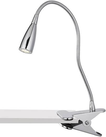 LED-Klemmleuchte 3 W Warm-Weiß Paul Neuhaus Levi 4113-17 Chrom
