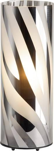 Tischlampe Halogen, Energiesparlampe E27 60 W Brilliant Wega 24547/15 Chrom
