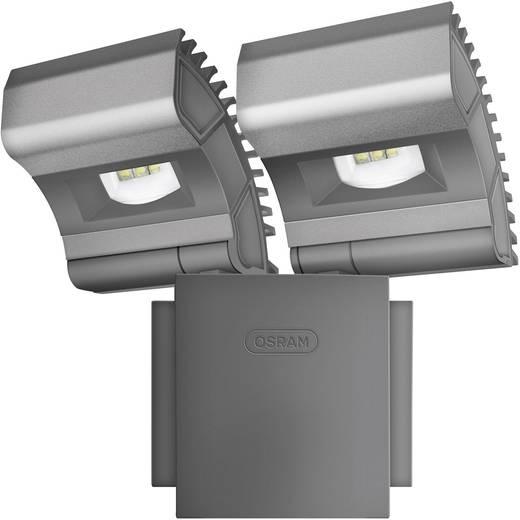 LED-Außenstrahler 16 W Neutral-Weiß OSRAM NOXLITE 2 X 8 W Schwarz