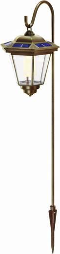 Solar-Gartenleuchte Laterne LED Warm-Weiß Renkforce Tivoli 1011TH-6/W-Y Kupfer