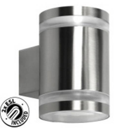 Außenwandleuchte Energiesparlampe, LED GX53 9 W Ranex Volare 5000.328 Edelstahl