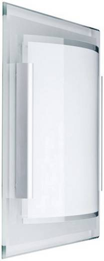 Wandleuchte E27 18 W Energiesparlampe Paulmann Faccetto 70018 Klar, Weiß