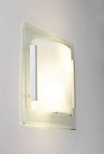 Wandleuchte E27 40 W Energiesparlampe Paulmann Faccetto 70019 Klar, Weiß