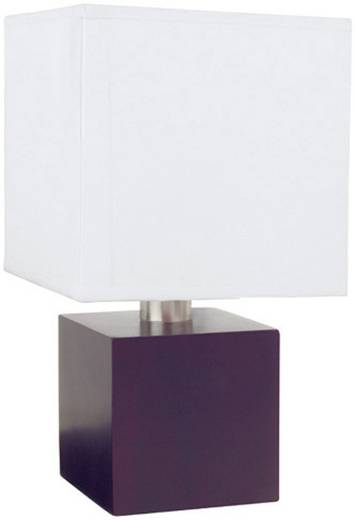Tischlampe Halogen E14 40 W Paulmann Asta 79389 Braun