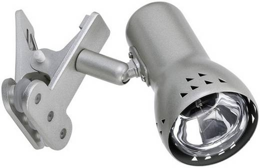 Klemmleuchte Energiesparlampe E14 40 W Paulmann Gryps 99825 Eisen