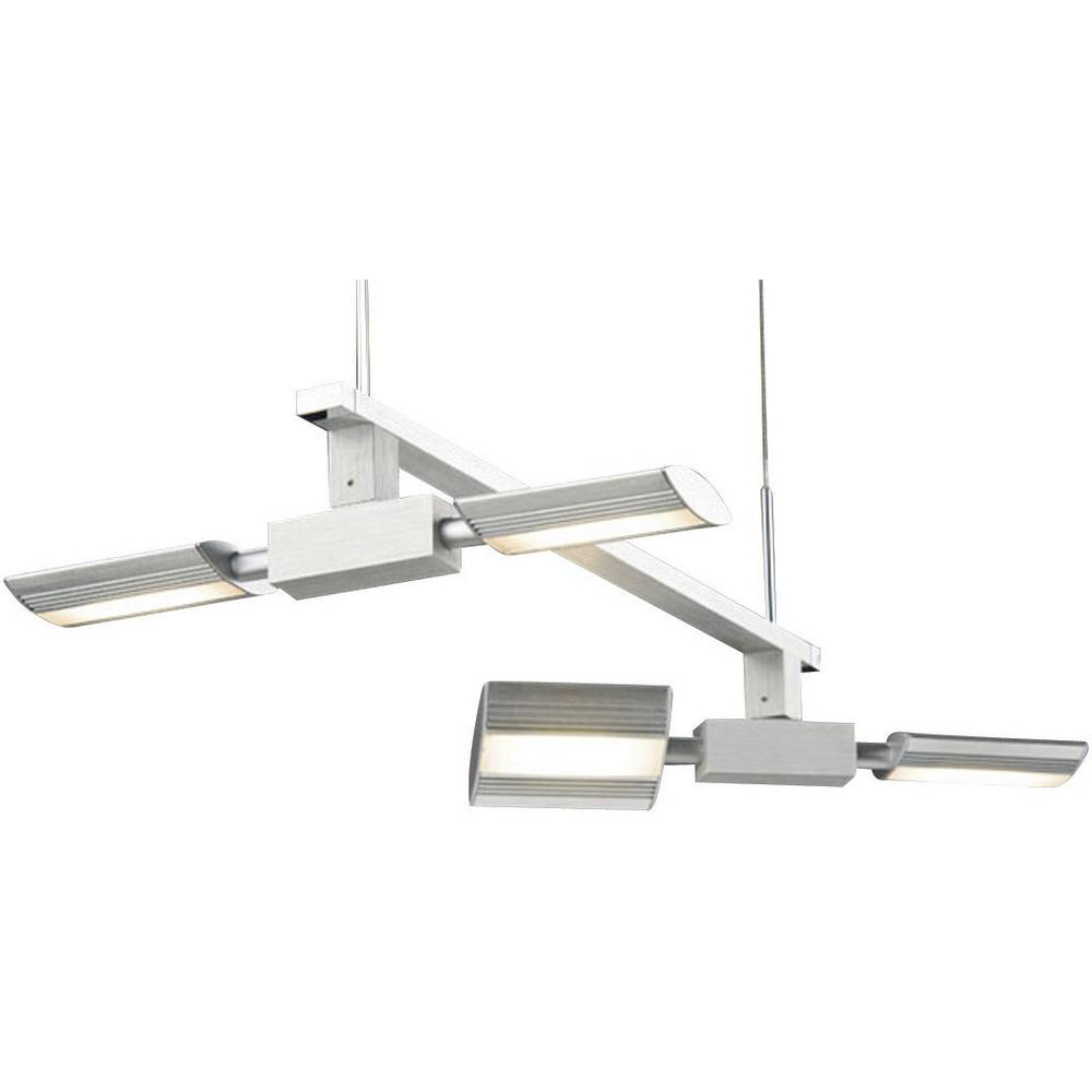 led pendelleuchte 20 w paulmann nanoled 70219 aluminium geb rstet im conrad online shop 579249. Black Bedroom Furniture Sets. Home Design Ideas