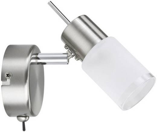 LED-Wandstrahler 3 W Warm-Weiß Paulmann ZyLed 66558 Eisen (gebürstet)