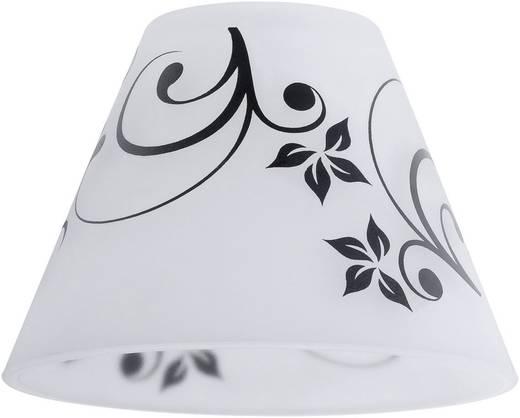 Lampenschirm Paulmann Kegi 60014 Weiß, Schwarz