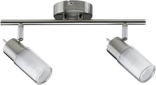 Deckenstrahler Energiesparlampe GU10 14 W Paulmann Zygla 60081 Eisen (gebürstet)