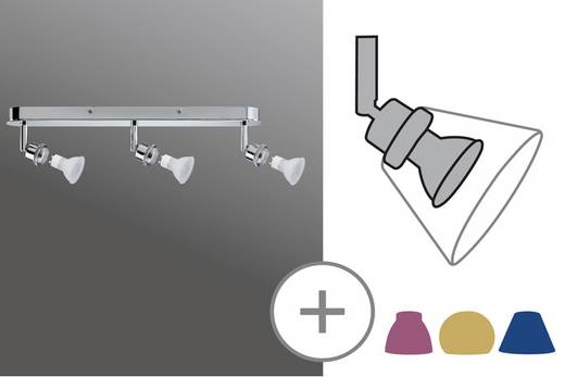Deckenstrahler Energiesparlampe GU10 120 W Paulmann 60096 Chrom (matt)