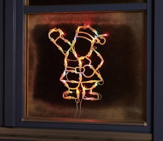 Leuchtsilhouette Weihnachtsmann