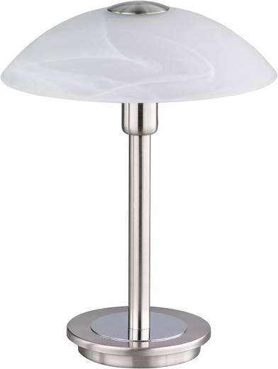 Tischlampe Halogen G9 33 W Paul Neuhaus Tila 4235-55 Stahl