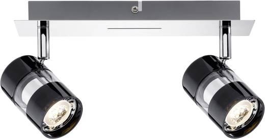 Deckenstrahler LED GU10 7 W Paulmann Nevo 60187 Schwarz, Chrom