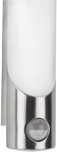 Außenwandleuchte mit Bewegungsmelder Energiesparlampe, LED E27 11 W Philips Lighting Ecomoods Bamboo 163404716 Edelstahl