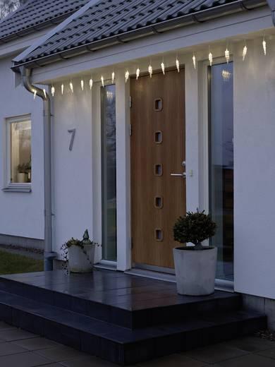 lichtervorhang eiszapfen au en 24 v 20 led warm wei l x b x h 9 m x 400 cm x 22 cm konstsmide. Black Bedroom Furniture Sets. Home Design Ideas