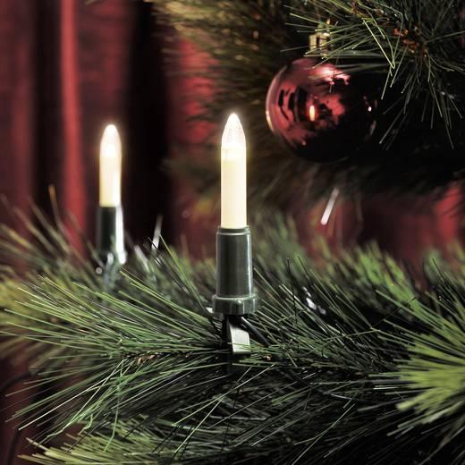 Konstsmide 1120-010 Weihnachtsbaum-Beleuchtung Innen EEK: A (A++ - E) 15 LED Warm-Weiß Beleuchtete Länge: 10.5 m