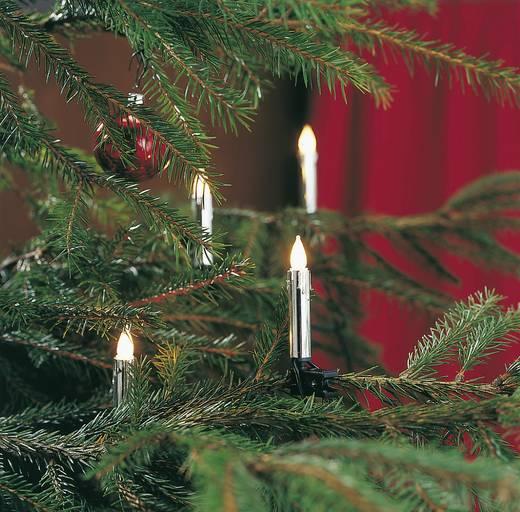 Weihnachtsbaum-Beleuchtung Innen netzbetrieben 20 Glühlampe Warm-Weiß Beleuchtete Länge: 5.7 m Konstsmide 2316-900