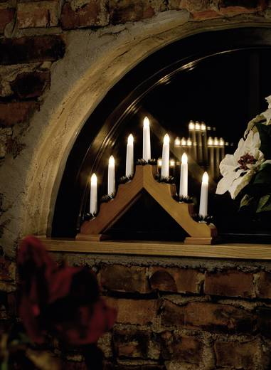 Holzleuchter Holzleuchter Klar Glühlampe Konstsmide 2262-130 Eiche
