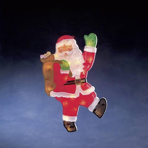 Fenster-Dekoration Weihnachtsmann Klar Glühlampe Konstsmide 2850-000 Multi-Color