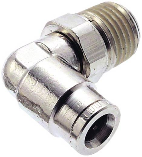 Winkelverbinder drehbar Norgren Außengewinde: R1/8 Rohr-Ø: 10 mm