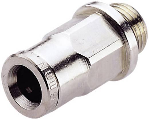 Gerade-Verbinder Norgren Außengewinde: M5 Rohr-Ø: 6 mm