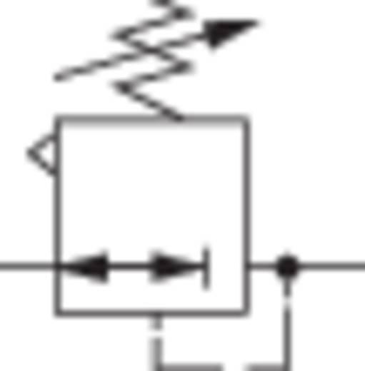 """Norgren Druckregler R07-100-RNKG 1/8"""" Druckluft Betriebsdruck (max.) 20 bar"""