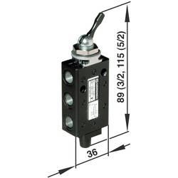 Elektromagnetický ventil Norgren X3044302, 5/2-cestné, G 1/8