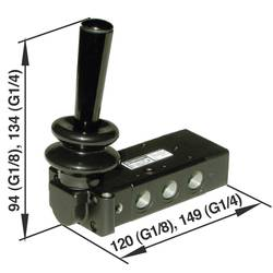 Elektromagnetický ventil Norgren X3363702, G 1/4