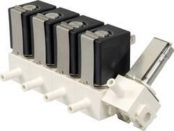 2/2-cestný mechanicky odolný ventil pneumatiky Busch Jost 8590440.9837.02400, vonkajší priemer hadicovej prípojky 6 mm