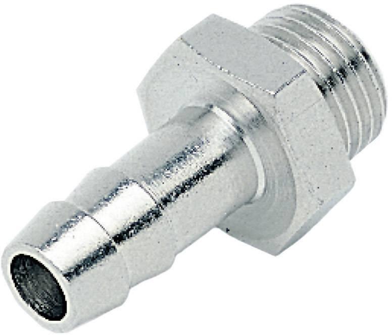 10x Schlauchverbinder Tülle für Schlauch-Innen Ø 6 mm aus Messing #