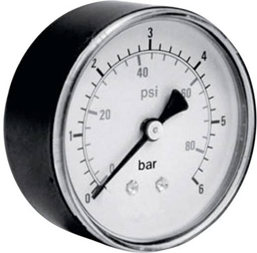 """Manometer ICH 306.40.-1 Rückseite -1 bis 0 bar Außengewinde 1/8"""""""