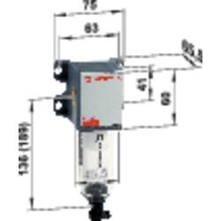 "Tlakový filter Norgren F92G-2GN-QT1, 1/4"", 12 bar"