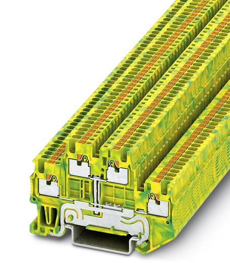 PTTB 1,5/S-PE - Schutzleiter-Reihenklemme PTTB 1,5/S-PE Phoenix Contact Grün-Gelb Inhalt: 50 St.