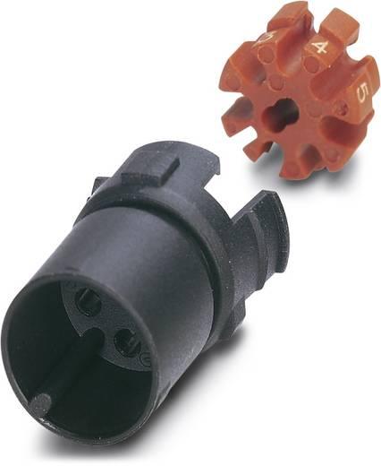 Sensor-/Aktor-Steckverbinder, unkonfektioniert M12 Kontaktträger Polzahl: 8 Phoenix Contact 1440928 SACC-MCI-M12MS-8CON