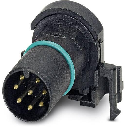 Sensor-/Aktor-Einbausteckverbinder M12 Kontaktträger Polzahl (RJ): 8 Phoenix Contact 1436987 SACC-CI-M12MS-8CON-L90 SCO
