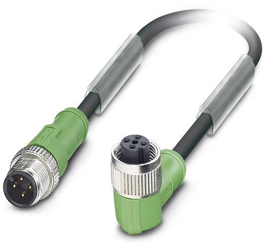 Sensor-/Aktor-Steckverbinder, konfektioniert M12 Stecker, gerade, Buchse, gewinkelt 10 m Polzahl: 4 Phoenix Contact 1696