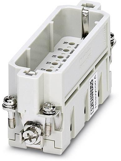 Steckereinsatz HC-A 1677034 Phoenix Contact 16 + PE Crimpen 10 St.